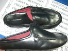 NIB ROBERT DAVID  MEN'S BLACK COMFORT SLIPPER OPEN BACK OR LOAFER MULTI SIZES