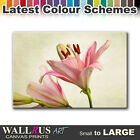 Lily Flowers FLORAL  Canvas Print Framed Photo Picture Wall Artwork WA