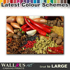 Kitchen Spices FOOD DRINK  Canvas Print Framed Photo Picture Wall Artwork WA