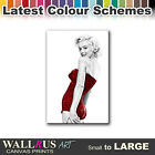 Marilyn Monroe Dress   Canvas Print Framed Photo Picture Wall Artwork WA