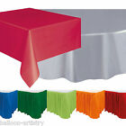 Solid Colour Rectangle Table covers Round Tablecovers Table Skirt One Listing