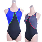 NEW YINGFA Competition racing womens girls swimwear 956 black/gray  XXL fit 34