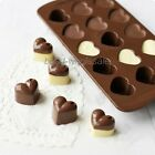 Mini Heart-shape Silicone Ice Cube Cake Chocolate Candy Tray Mold For Party