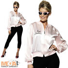 Pink Ladies Jacket Official 50s Grease Fancy Dress 1950s Costume