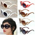 Women/Men's New Popular Semi Transparent Round Butterfly Solid Frame Sunglasses