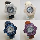 ~SALE~ Resina Fashion Women's Resin Flower Crystal Jewelry Watch - 4 colours