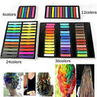 Easy Wash Out Colors Non-Toxic Hair Chalk Dye Soft Temporary Hair Pastel Kit Diy