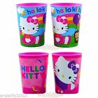(2) HELLO KITTY ~ 16oz Reusable Plastic KEEPSAKE CUPS Birthday PARTY SUPPLIES