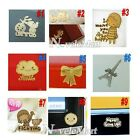 5 x Gold Plating Anti Radiation Sticker Stickers for Cell phone PC MP3 5PCS