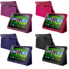 Color PU Leather Folio Pouch Case Cover Stand for Blackberry Playbook Tablet