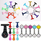 New Stainless Steel /Plastic /Silicone /Smiley Face Quartz Fob Nurses Watch