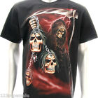 r63 M L XL XXL XXXL Rock Eagle T-shirt Tattoo Skull Glow in Dark Horror Street