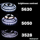 Купить Super Bright 5M 3528 5050 5630 SMD 300 600 LED Flexible Strip light DC 12V White