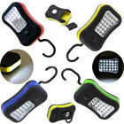 28 LED Flashlight Magnetic Hanging Hook Outdoor Work Light With 4 Colors Options