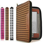 CaseCrown Oxford Zip Case for Amazon Kindle 4th Generation - Assorted Colors