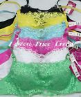 1 BRA or Lot of 6 BRAS, LACE COVER CAMI BRA UNDERWIRE DEMIS CUP B C NEW #99649
