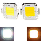 10W 900-1000LM / 20W 1800LM White Warm White LED SMD Chip Lamp Bright High Power