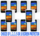 1, 2, 3,5 or 10 Screen Protector For Samsung Galaxy S2 S II SCH-R760/R760X Phone