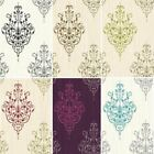 New Luxury Holden Cassandra Damask Embossed Textured Glitter Wallpaper 10m Roll