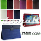 Leather Smart Case Cover Stand for Samsung Galaxy Tab2 P5100 P5110 10.1 Inch