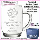 Fathers Day Gift Personalised Pint Glass Daddy-Dad-Grandad-Grandpa-Grampie