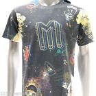m217 Minute Mirth T-shirt CLASSIC Tattoo Skull Skate Space Robot War Monster Tee