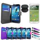 Leather Wallet Case Screen Protector Portable Speakers For Samsung Galaxy S4
