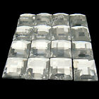 500 - 2000 Clear Square Flatback Rhinestone Wedding Favor 10mm