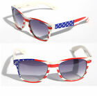 Patriotic classic USA American flag Star Strip Sunglasses Vintage 80's Retro new