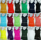 Ladies Wrinkled Camisole Lace Strap Tank Top Cami ONE SIZE(fits S,M,L,XL) TWC306