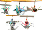 BEAUTIFUL ORIGAMI CRANE DANGLE EARRINGS - 5 COLORS