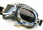 WWII goggles motorcycle bicycle Aviator Pilot Mirror cycling biker glass