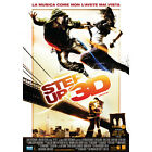POSTER ORIGINALE LOCANDINA STEP UP 3D