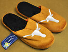 Pair of Texas Longhorns Big Logo Slippers NEW NCAA - TWO TONED House shoes