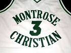 KEVIN DURANT MONTROSE HIGH SCHOOL JERSEY White NEW -   ANY SIZE XS - 5XL