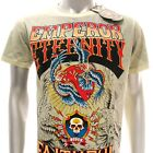 e343n Eternity T-shirt Sz M L Tattoo Skull Rhinestone Glitter Eagle Crow Dark