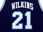 DOMINIQUE WILKINS PAM-PACK HIGH JERSEY Blue NEW -   ANY SIZE XS - 5XL