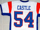 CUSTOM NAME & # BLUE MOUNTAIN STATE JERSEY WHITE NEW ANY NAME & #, XS - 5XL