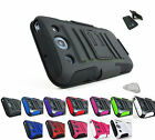 for LG Optimus G Pro E940 ATT Heavy Duty Hybrid Case&Belt Clip Holster+PryTool