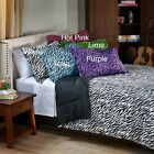 Zebra 2-piece Twin-size Mini Comforter Set