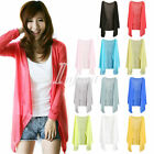 Fashion Casual Women Sunscreen Protection Anti-UV Cardigan Blouse Tops