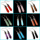 *Lot of choices* Gemstone crystal healing point chakra reiki fashion earrings 2""