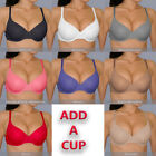 32 34 36 38 40 B C VeRy SEXY Boost Your Bust  SEAMLESS ADD A CUP Push Up BRA