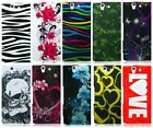 For Sony Xperia Z L36H C6603 Design Solid Hard Cover Snap On Case