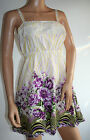 159.MA Purple Floral Summer Dress New UK Sizes 10 - 16