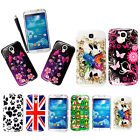 FOR SAMSUNG GALAXY S4 I9500 STYLISH PRINTED HARD BACK SHELL CASE COVER+STYLUS