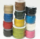1MM WAXED COTTON CORD WAX JEWELRY BEADING CORDING  82 FEET