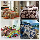 Queen Size Bed Quilt/Doona/Duvet Cover Set 100% Long-Staple Cotton New 4 Designs