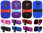 For Samsung Galaxy Exhibit T599 Rubber KICK STAND Case Phone Cover Accessory