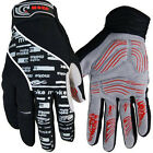 2014 Winter NEW Cycling Bike Bicycle Full Finger Gloves Black Color Size M - XL